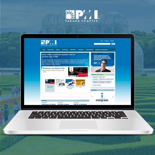 Site do PMI-PR
